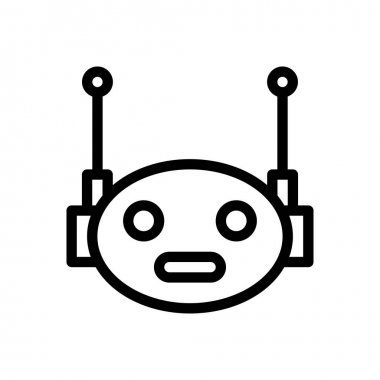 Robotics Icon for website design and desktop envelopment, development. premium pack. icon