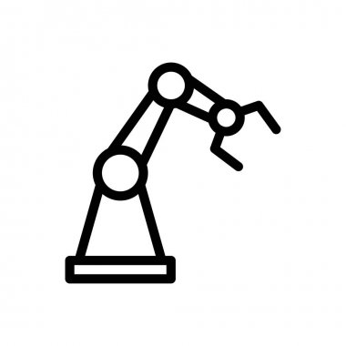 Robotics  Icon for website design and desktop envelopment, development. premium pack. icon