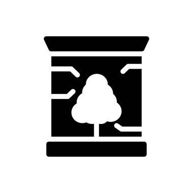Tree  Icon for website design and desktop envelopment, development. premium pack. icon