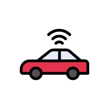 Vehicle Icon for website design and desktop envelopment, development. premium pack. icon