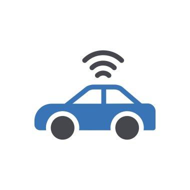 Wireless  Icon for website design and desktop envelopment, development. premium pack. icon