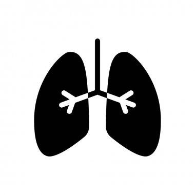 Lungs Icon for website design and desktop envelopment, development. premium pack. icon