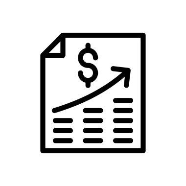 Bill Icon for website design and desktop envelopment, development. premium pack. icon