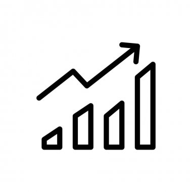Growth Icon for website design and desktop envelopment, development. premium pack. icon