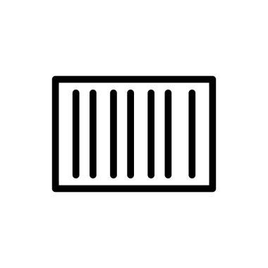 Barcode Icon for website design and desktop envelopment, development. premium pack. icon
