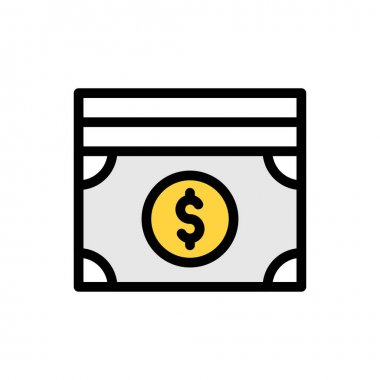 Cash Icon for website design and desktop envelopment, development. premium pack. icon