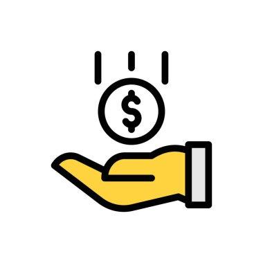 Investment Icon for website design and desktop envelopment, development. premium pack. icon