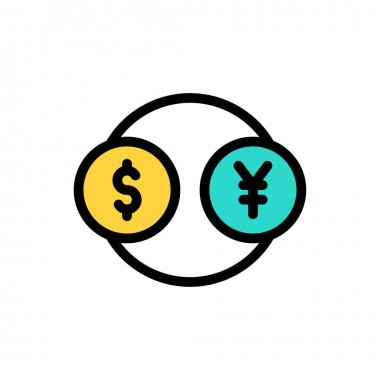 Currency Icon for website design and desktop envelopment, development. premium pack. icon