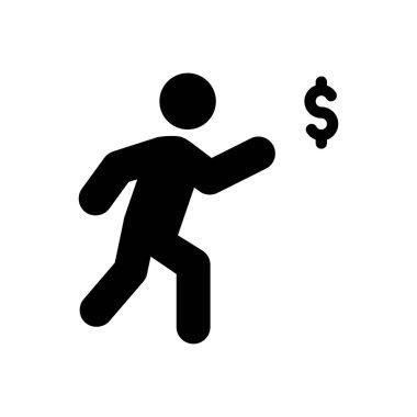 Cost Icon for website design and desktop envelopment, development. premium pack. icon