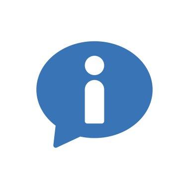 Info  Icon for website design and desktop envelopment, development. premium pack. icon