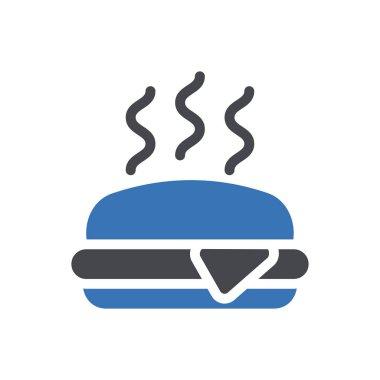 Burger  Icon for website design and desktop envelopment, development. premium pack. icon