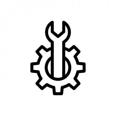 Cogwheel Icon for website design and desktop envelopment, development. premium pack. icon