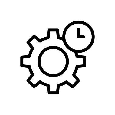 Gear Icon for website design and desktop envelopment, development. premium pack. icon