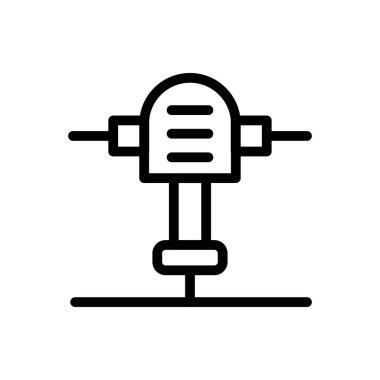 Drill Icon for website design and desktop envelopment, development. premium pack. icon
