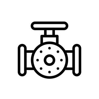 Valve Icon for website design and desktop envelopment, development. premium pack. icon