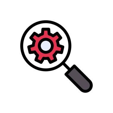 Setting Icon for website design and desktop envelopment, development. premium pack. icon