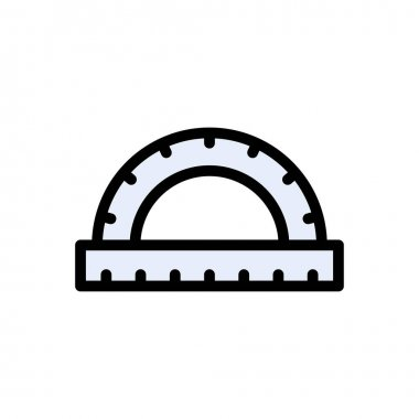 Protractor  Icon for website design and desktop envelopment, development. premium pack. icon