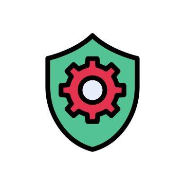 Shield Icon for website design and desktop envelopment, development. premium pack. icon