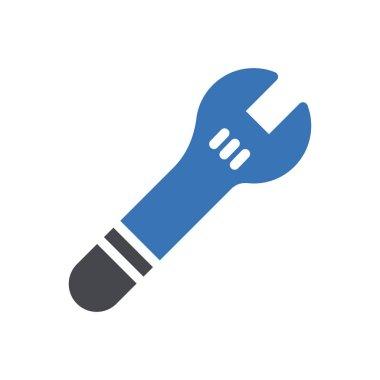 Wrench  Icon for website design and desktop envelopment, development. premium pack. icon