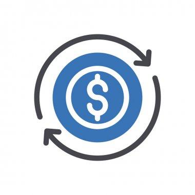 Transaction  Icon for website design and desktop envelopment, development. premium pack. icon
