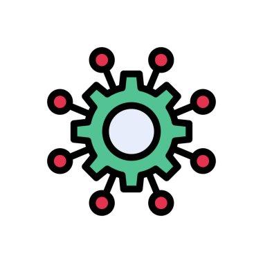 Cogwheel Icon for website design and desktop envelopment, development. premium pack. icon