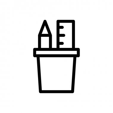 Stationary Icon for website design and desktop envelopment, development. premium pack. icon