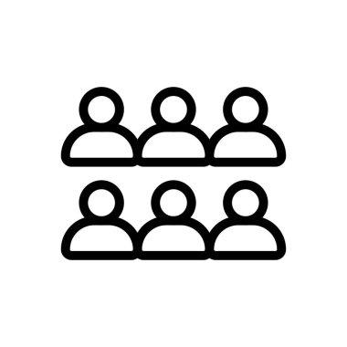 Students  Icon for website design and desktop envelopment, development. premium pack. icon