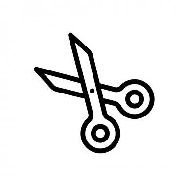 Scissor Icon for website design and desktop envelopment, development. premium pack. icon