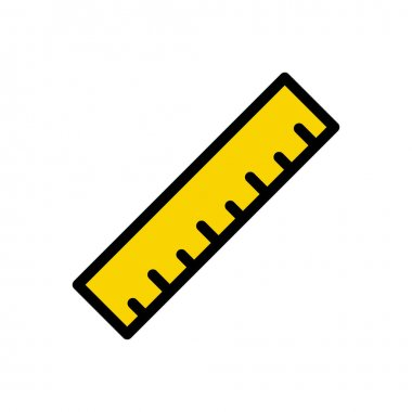 Ruler Icon for website design and desktop envelopment, development. premium pack. icon
