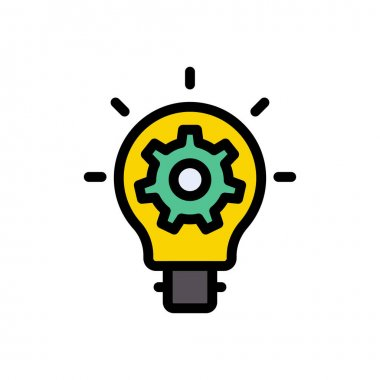 Idea gear Icon for website design and desktop envelopment, development. premium pack. icon
