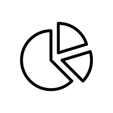 Pie Icon for website design and desktop envelopment, development. premium pack. icon