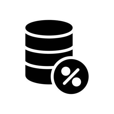 Database  Icon for website design and desktop envelopment, development. premium pack........... icon