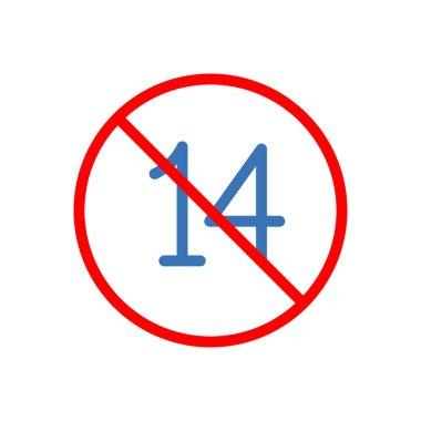 Banned Icon for website design and desktop envelopment, development. premium pack. icon