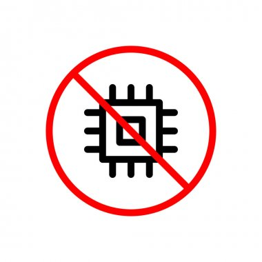 Not allowed Icon for website design and desktop envelopment, development. premium pack. icon