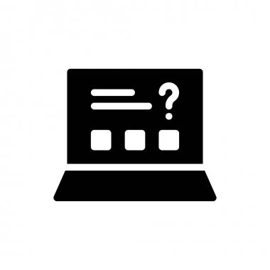 Exams  Icon for website design and desktop envelopment, development. premium pack. icon