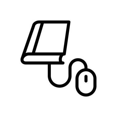 Online education Icon for website design and desktop envelopment, development. premium pack. icon