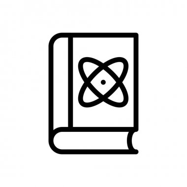 Science book Icon for website design and desktop envelopment, development. premium pack. icon