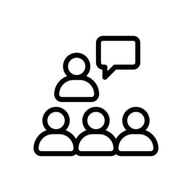 Lecture Icon for website design and desktop envelopment, development. premium pack. icon
