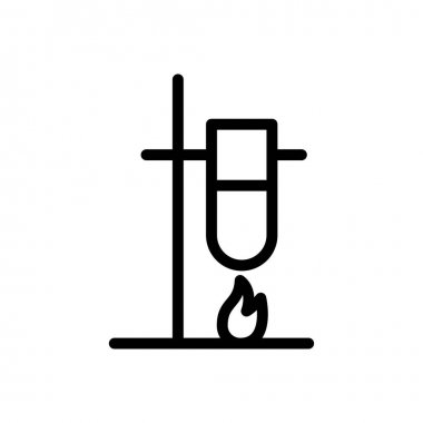Test tube experiment Icon for website design and desktop envelopment, development. premium pack. icon