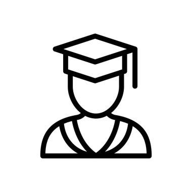 Student graduation Icon for website design and desktop envelopment, development. premium pack. icon