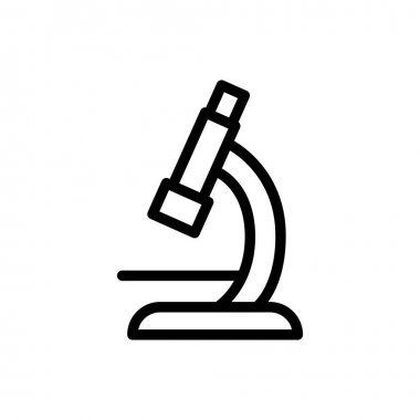 Microscope Icon for website design and desktop envelopment, development. premium pack. icon