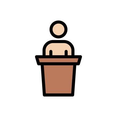 Presentation Icon for website design and desktop envelopment, development. premium pack. icon