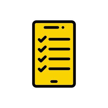 Mobile education Icon for website design and desktop envelopment, development. premium pack. icon