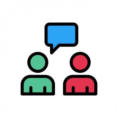 Student chat  Icon for website design and desktop envelopment, development. premium pack. icon