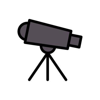 Telescope Icon for website design and desktop envelopment, development. premium pack. icon