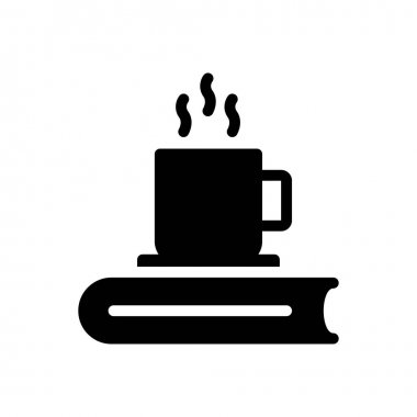 Tea book Icon for website design and desktop envelopment, development. premium pack. icon