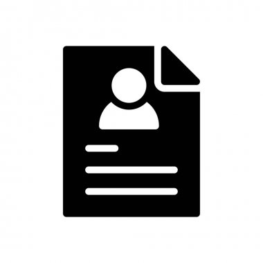 Student file Icon for website design and desktop envelopment, development. premium pack. icon