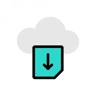 Download file Icon for website design and desktop envelopment, development. premium pack. icon