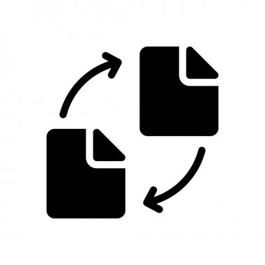 File transfer Icon for website design and desktop envelopment, development. premium pack. icon