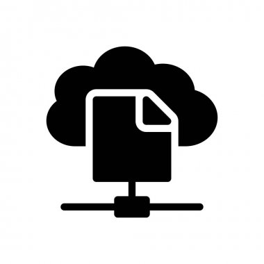 File sharing Icon for website design and desktop envelopment, development. premium pack. icon